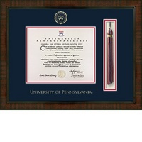 Church Hill Classics Tassel Diploma Frame. Associates, Bachelors, Masters, PhD.
