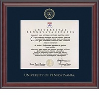 Church Hill Classics Embossed Studio Diploma Frame. Associates, Bachelors, Masters, PhD.