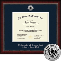 Church Hill Classics Engraved Diploma Frame. Social Work. Bachelors, Masters.