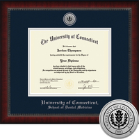 Church Hill Classics Engraved Diploma Frame. Dental Medicine. PhD.