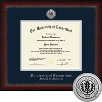 Church Hill Classics Engraved Diploma Frame. Medicine. PhD