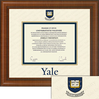 Church Hill Classics Dimensions Plus Diploma Frame. Bachelors, Masters, PhD. (Exclusive)