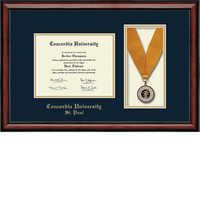 Church Hill Classics Medal Diploma Frame. Bachelors, Masters (Online Only)