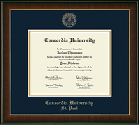 Church Hill Classics Embossed Murano Diploma Frame. Bachelors, Masters