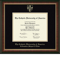 Church Hill Classics Embossed Murano Diploma Frame. Law