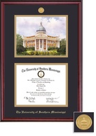 Framing Success Classic Medallion DiplomaLitho Diploma Frame