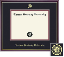 Framing Success Academic Diploma Frame in Gloss Cherry Finish and Gold Trim