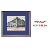 Framing Success Classic Law Photo No Embossing Double Matted Diploma Frame