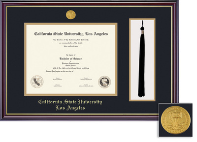 cal state la university bookstore framing success windsor  framing success windsor medallion diploma tassel double matted diploma frame
