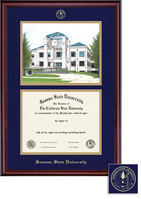 Framing Success Classic Litho Double Matted Diploma Frame