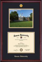 Framing Success Classic Medallion DiplomaPhoto Double Matted Diploma Frame