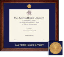 Framing Success Lansdowne Medallion Double Matted Diploma Frame