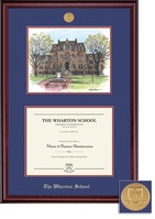 Framing Success Classic Medallion DiplomaLitho Double Matted Diploma Frame