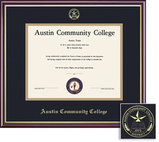 Academic Double Matted Diploma Frame
