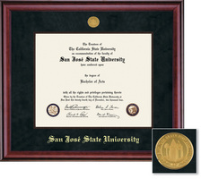 Framing Success Classic DiplomaTasselLitho Black Matted Diploma Frame