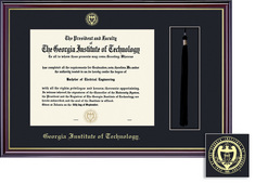 Framing Success Windsor Single Black Matted Diploma Frame