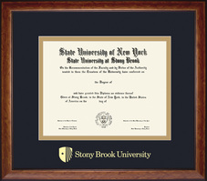 Framing Success Lansdowne Double Matted Diploma Frame in a Birdseye Maple with Black trim
