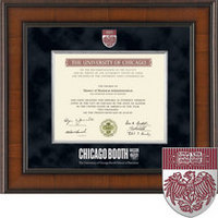 Church Hill Classics Presidential Diploma Frame  Masters