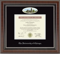 Church Hill Classics Campus Cameo Diploma Frame