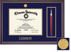 Framing Success Windsor Tassel Diploma Frame in a Gloss Cherry Finish, Gold Trim
