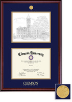 Framing Success Classic Litho Diploma Frame in a Burnished Cherry Finish