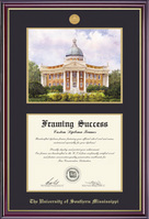 Windsor Medallion DilomaLithoDouble Matted Diploma Frame