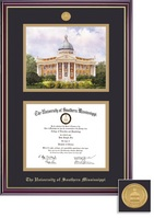 Framing Success Windsor Medallion DilomaLitho Double Matted Diploma Frame