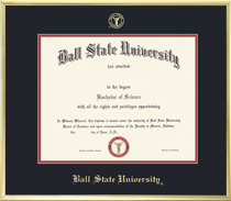 Framing Success Varsity Diploma Frame