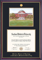 Perkins Windsor Diploma Frame