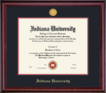 Framing Success Classic Medallion ODJD Double Matted Diploma Frame