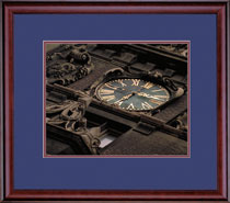 Framing Success Classic Photo Frame in a Burnished Cherry Finish