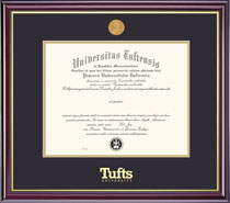 Windsor Medallion Double Diploma Frame