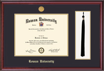 Framing Success Classic Medallion DiplomaTassel Double Matted Diploma Frame