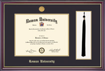 Framing Success Windsor Medallion DiplomaTasselDouble Matted Diploma Frame
