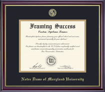 Framing Success Windsor PhD Double Matted Diploma Frame