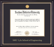 Prestige 409Pres Engineering Medallion Double Matted MA PhD Diploma Frame