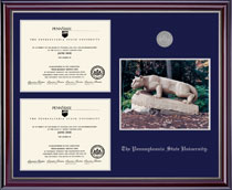 Framing Success Penn State Nittany Lions Jefferson Diploma Frame