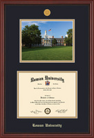 Framing Success Grandeur Medallion DiplomaPhotoDouble Matted Diploma Frame