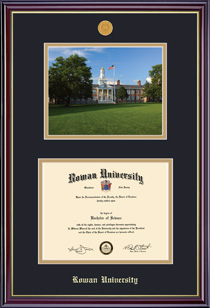 Windsor Medallion DiplomaPhoto Double Matted Diploma Frame