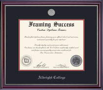 Framing Success Jefferson Diploma Frame
