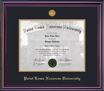 Elite Medallion MA Double Matted Diploma Frame in Gloss Cherry Finish