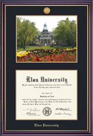 Framing Success Windsor Medallion Diploma & Photo Double Matted Diploma Frame