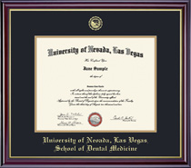 Windsor Dental Double Matted Diploma Frame