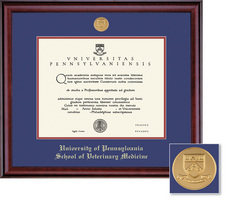 Framing Success School Of Veterinary Medicine Classic Moulding Single Diploma Frame