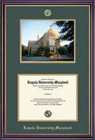 Windsor Diploma & Photo Double Matted Diploma Frame