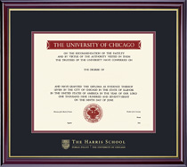 Windsor HarrisPublic Policy Diploma Frame