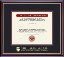 Framing Success Windsor HarrisPublic Policy Diploma Frame