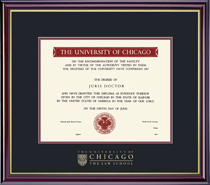 Windsor Law School Diploma Frame
