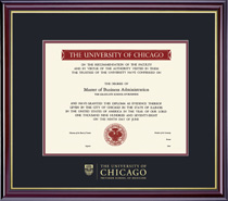 Windsor Pritzker School of Medicine Diploma Frame