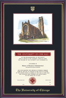 Windsor College Diploma Frame